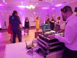 A Closeup of Our Indianapolis Wedding DJ in Action!